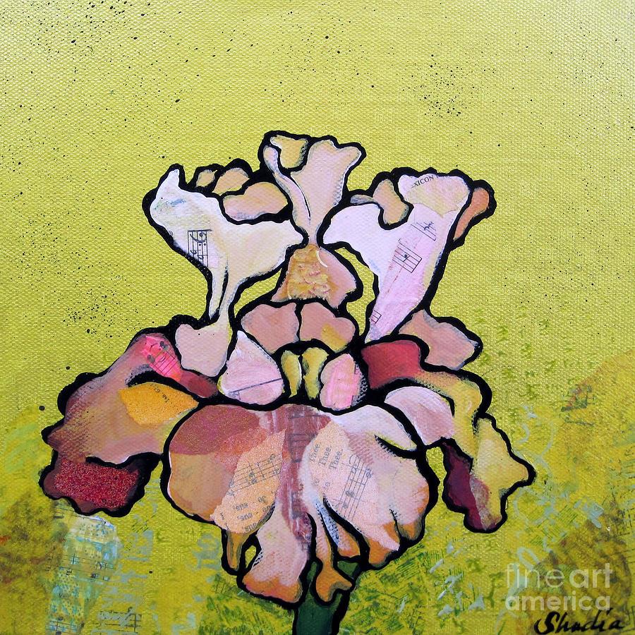 Iris Iv Painting