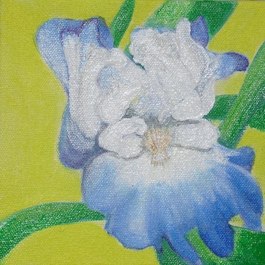 Floral Painting - Iris by Melissa Torres