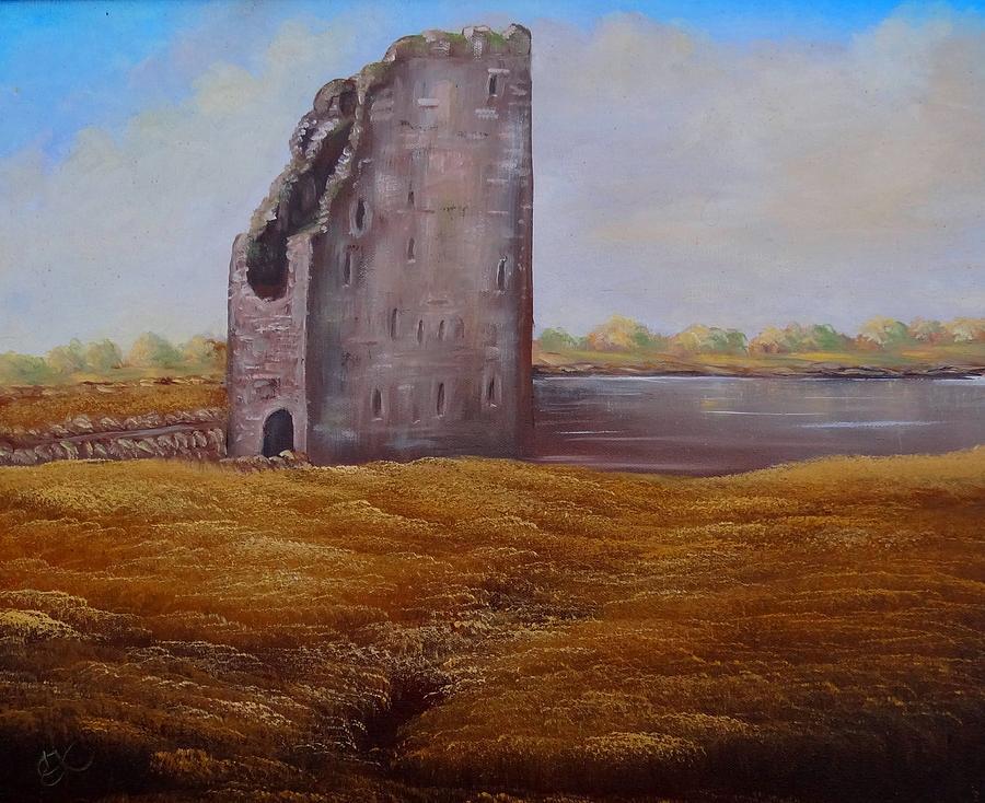 Irish Castle Painting by Fineartist Ellen