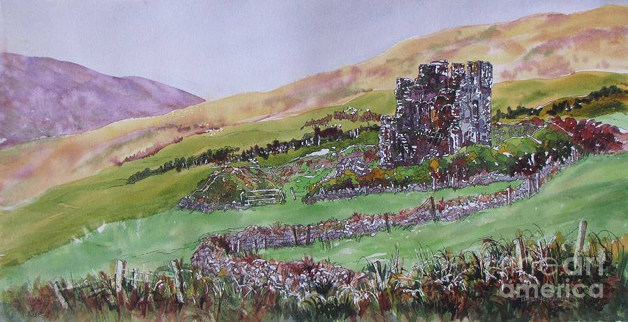 Irish Painting - Irish-fortitude by Nancy Newman