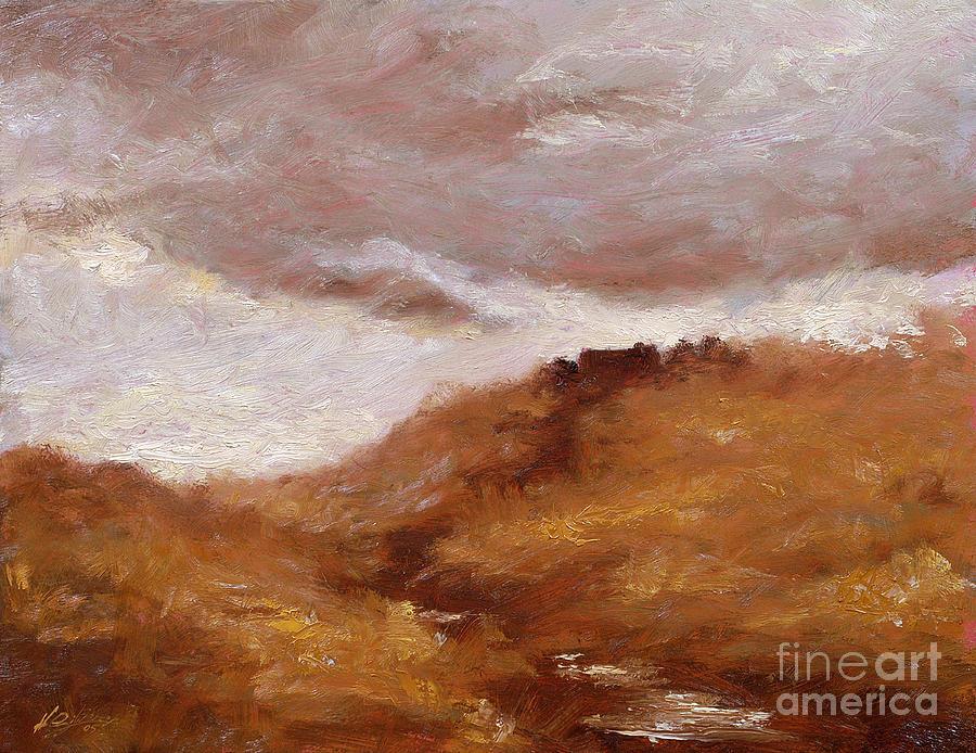 Landscape Paintings Painting - Irish Landscape I by John Silver