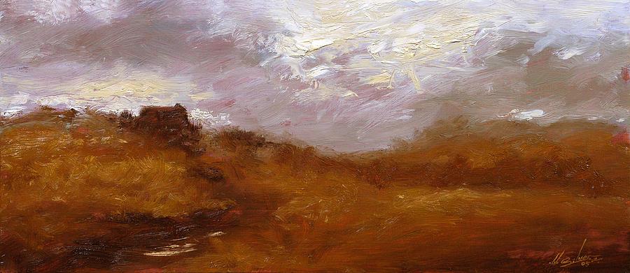 Landscape Paintings Painting - Irish Landscape II by John Silver