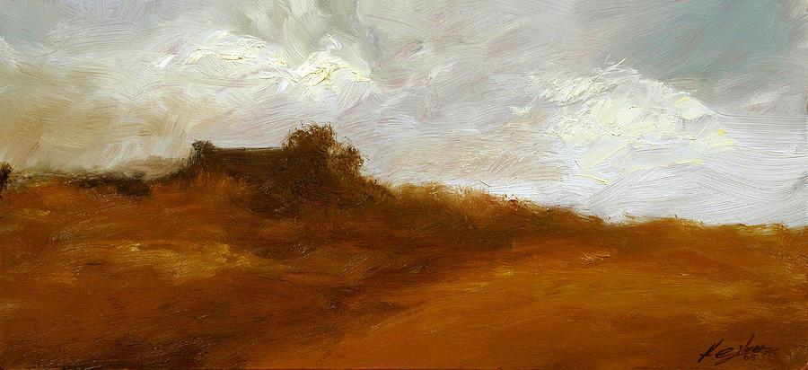 Landscape Paintings Painting - Irish Landscape IIi by John Silver