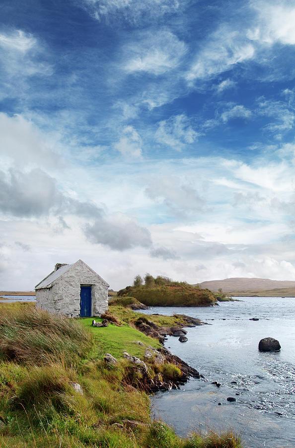 Irish Landscape In Connemara Photograph by Narvikk