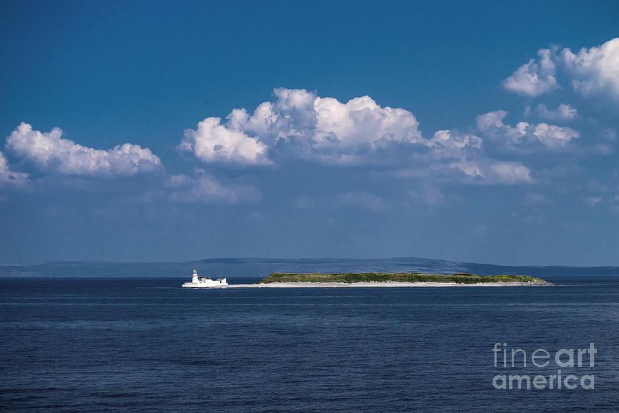 Lighthouse Photograph - Irish Lighthouse  by Juergen Klust