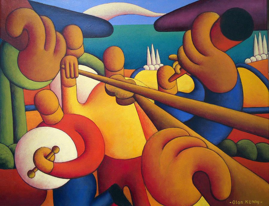 Irish Music Session by Alan Kenny
