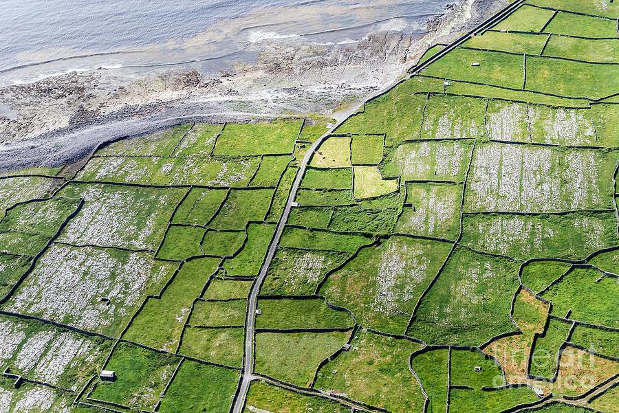 Walls Photograph - Irish Stone Walls by Juergen Klust