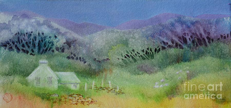 Ireland Painting - Irish_impressions_ii by Nancy Newman