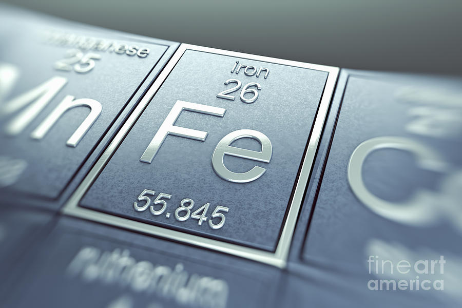 Iron Chemical Element Photograph By Science Picture Co