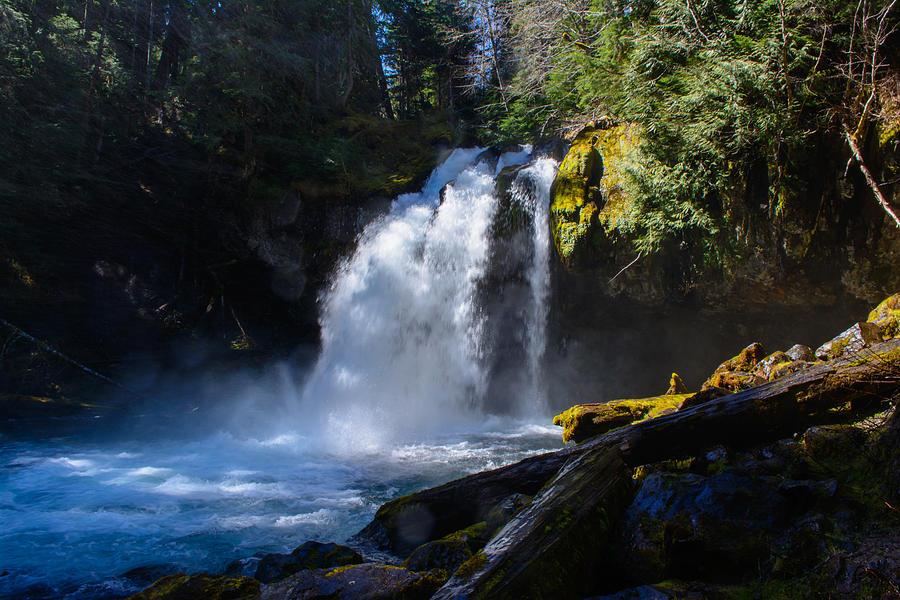 River Photograph - Iron Creek Falls by Tikvahs Hope