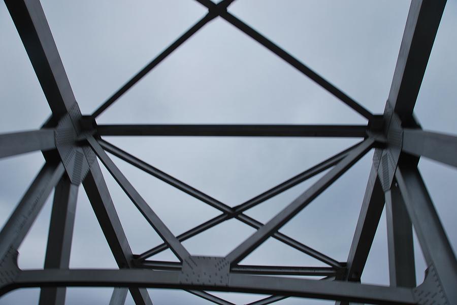 Structure Photograph - Iron Grasp by Michelle Pierce