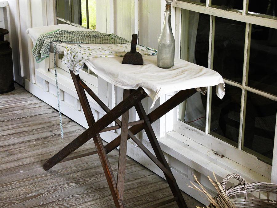 Ironing Board Photograph - Ironing Board at Cross Creek Florida by Randi Kuhne