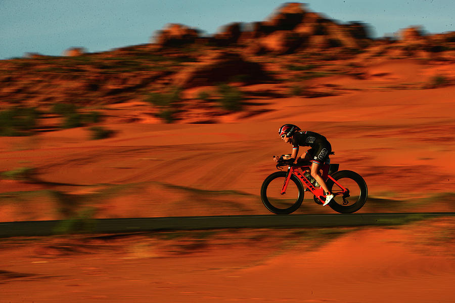 Ironman 70.3 St George Photograph by Donald Miralle