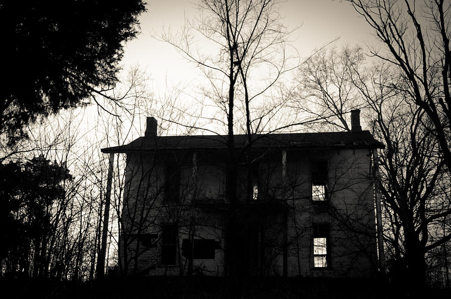 Abandoned Photograph - Is Anybody Home by Off The Beaten Path Photography - Andrew Alexander