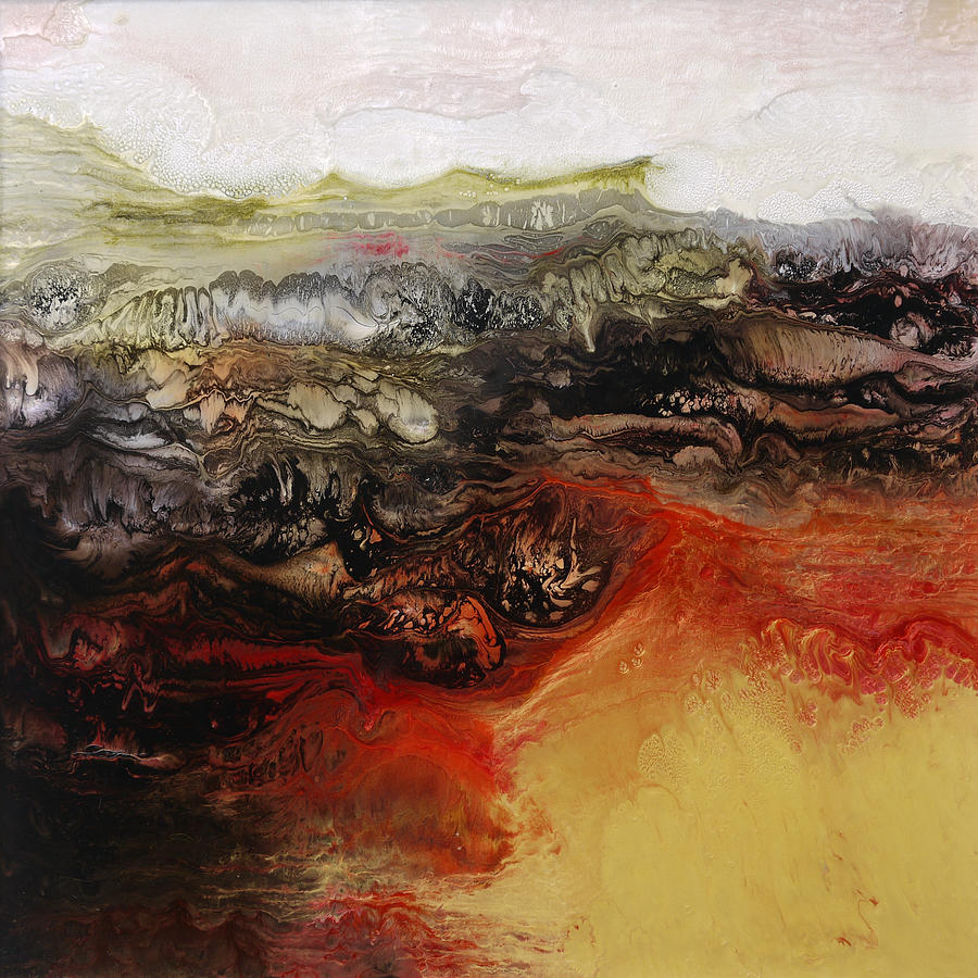 Hot Painting - Is There Life On Mars Sold by Lia Melia