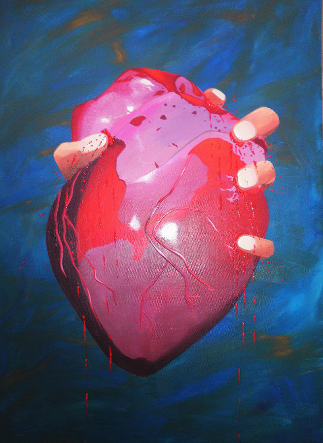 Emotive Painting - Is This Love? by Aileen Carruthers