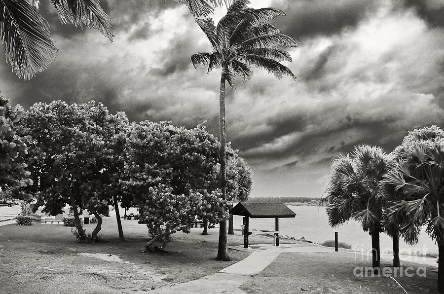 Tropical Storm Isaac Photograph - Isaac At The Inlet by Don Youngclaus