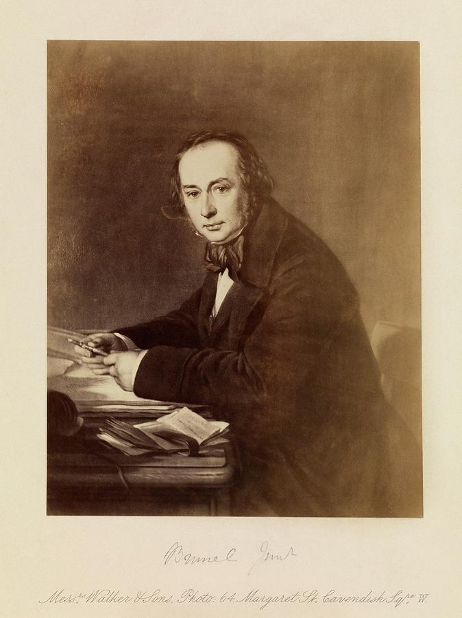 19th Century Photograph - Isambard Kingdom Brunel by Royal Institution Of Great Britain / Science Photo Library