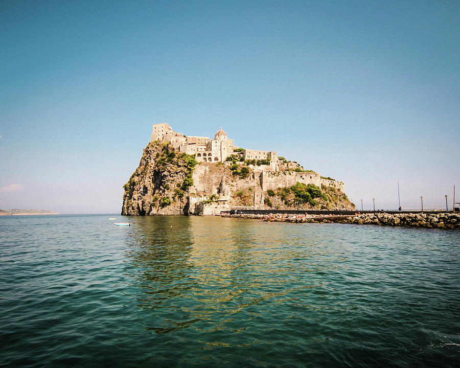Ischia Island Castle Photograph by Angelafoto