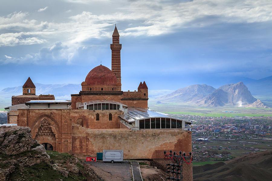 Ishak Pasha Palace, Dogubeyazit, Agri Province, Turkey by Feng Wei  Photography