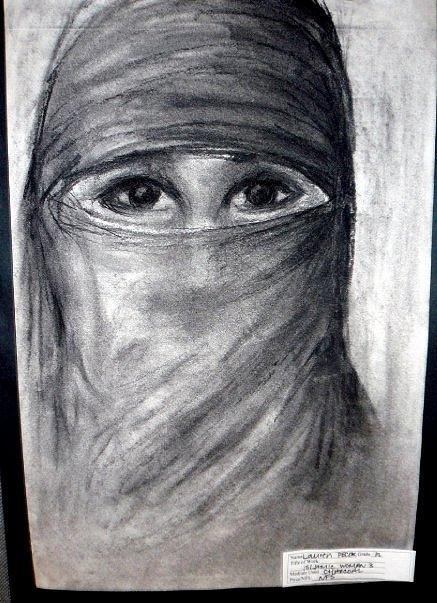 Islam Drawing by Lauren  Pecor