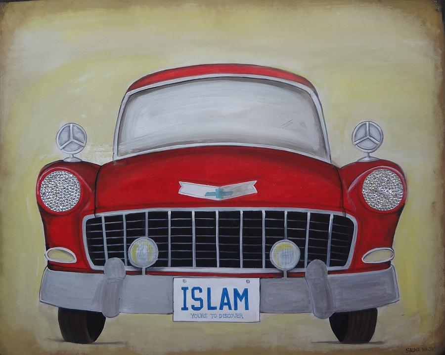 Islam Painting - Islam Yours To Discover by Salwa  Najm