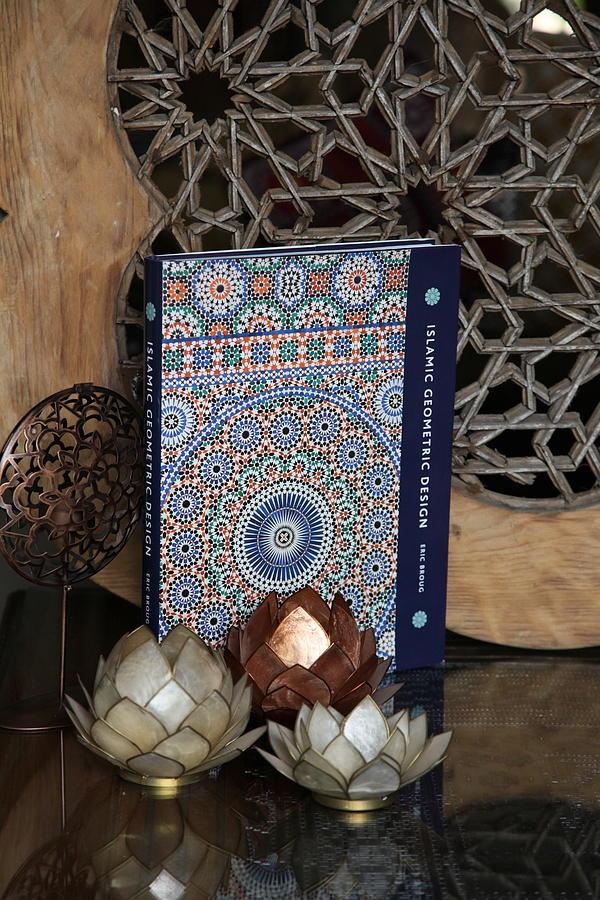 Islam Photograph - Islamic Geometric Design - Book By Eric Broug by Murtaza Humayun Saeed