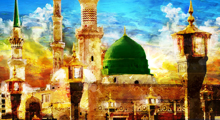 Islamic Painting - Islamic Paintings 005 by Catf
