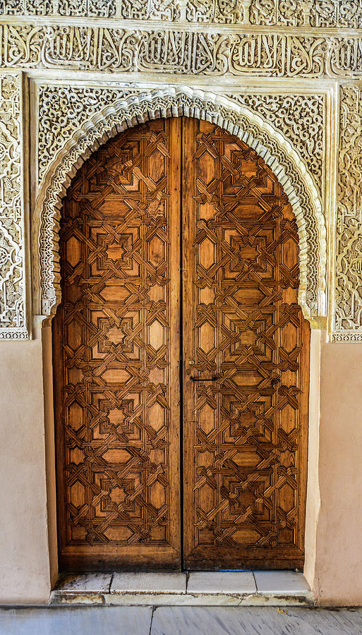 Islamic-style Doorway In Granada, Spain Photograph by Starcevic