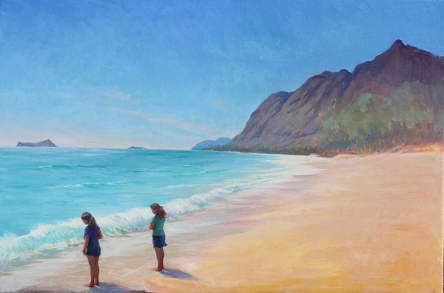 Art Galleries Painting - Island Breeze by Gwen Carroll