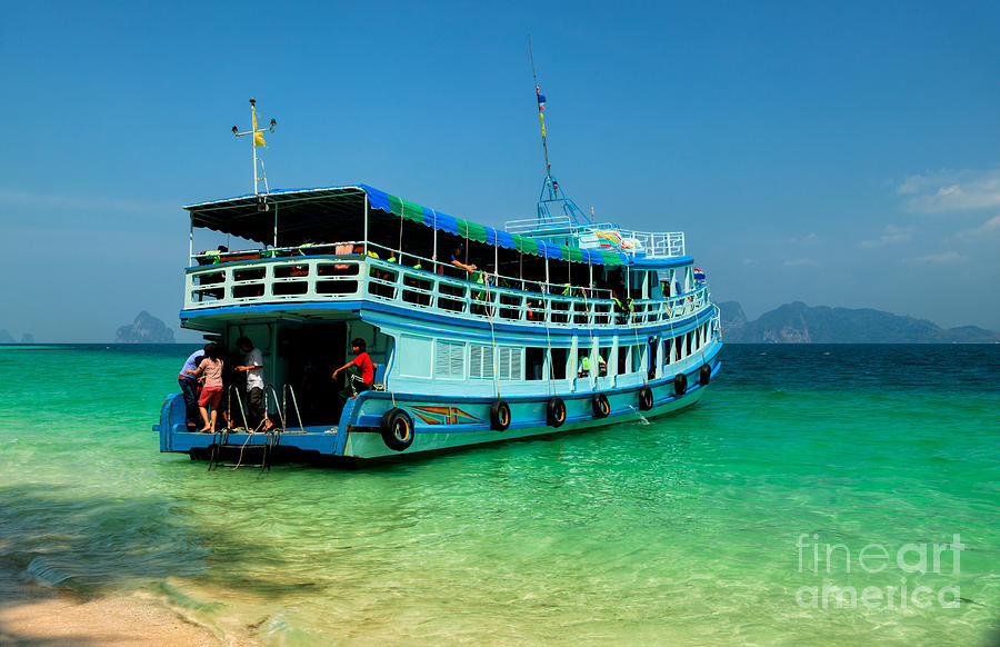 Asia Photograph - Island Ferry  by Adrian Evans