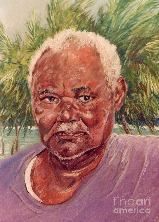 Painting Painting - Island Fisherman by John Clark