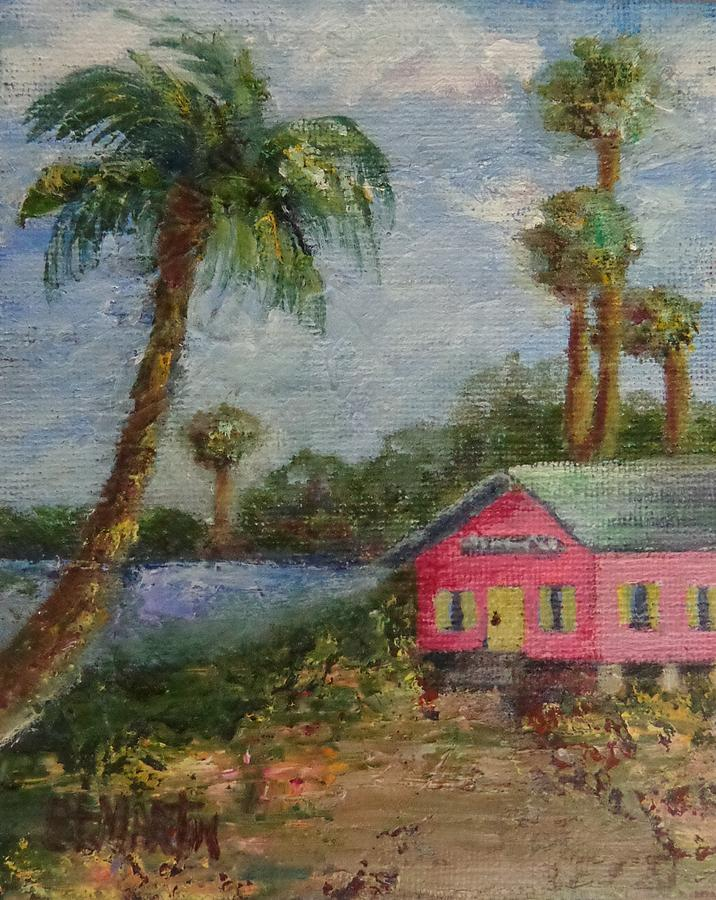 Living On An Island Painting - Island Life by Annie St Martin