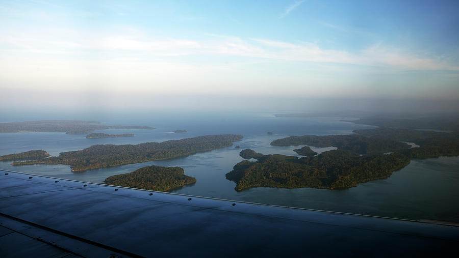 Island Of Andaman From Air Plane Photograph by Partha Pal