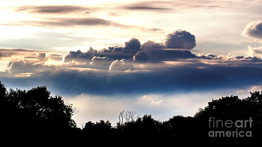 Island Of Clouds Photograph