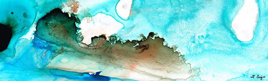 Island Painting - Island Of Hope by Sharon Cummings