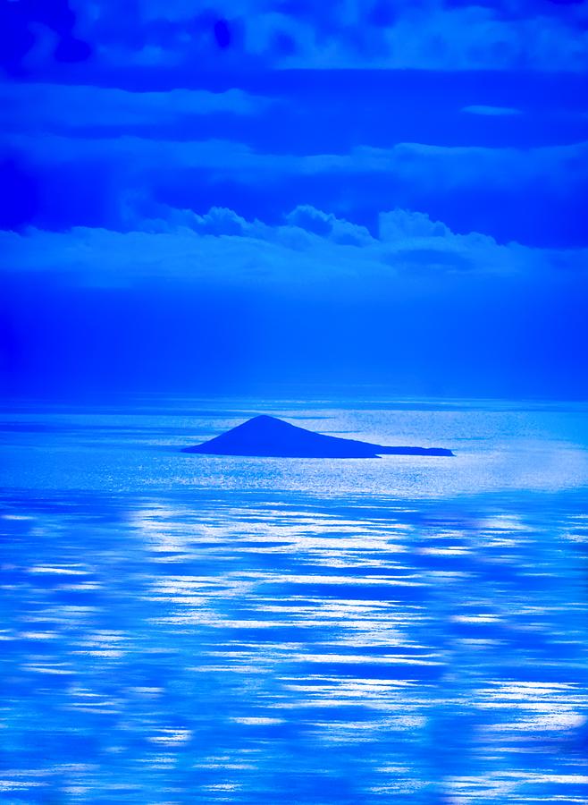 Blue Hawaii Photograph - Island Of Yesterday Wide Crop by Christi Kraft