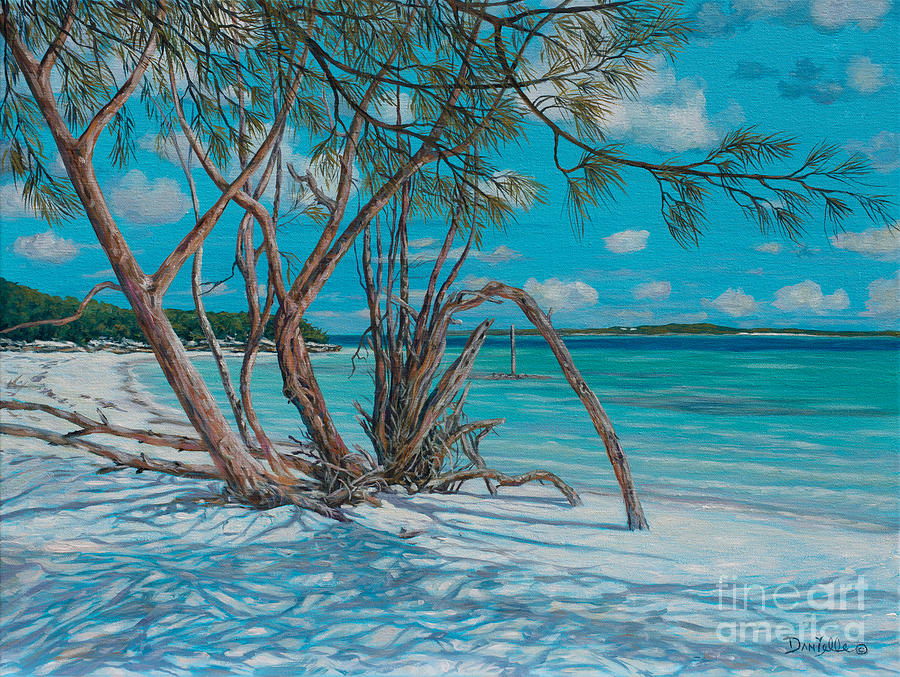 Bahamas Painting - Island Time by Danielle  Perry