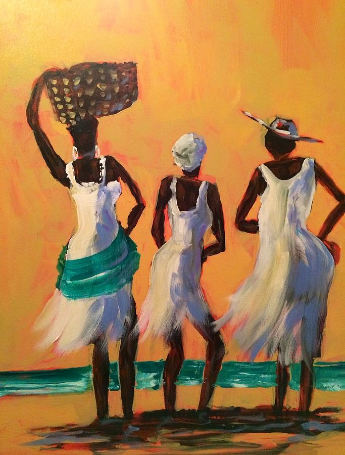 Island women by Gloria Avner