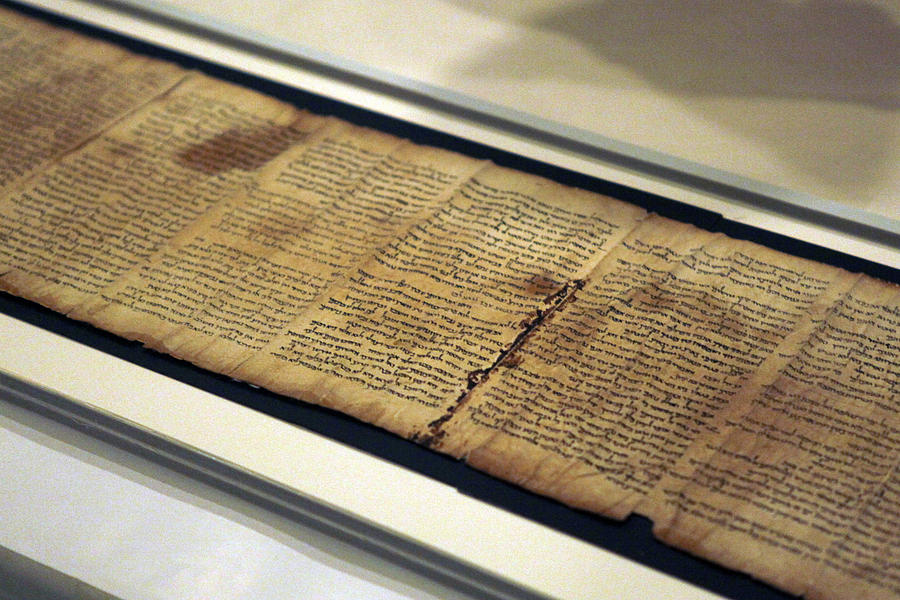 Israel Museum Displays Dead Sea Scrolls Photograph by Lior Mizrahi