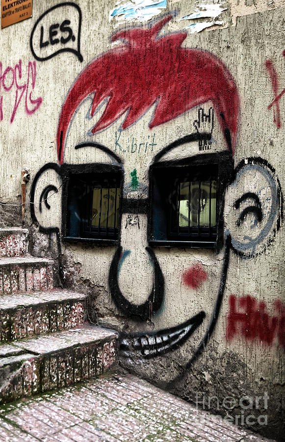 Galata Photograph - Istanbul Les by John Rizzuto