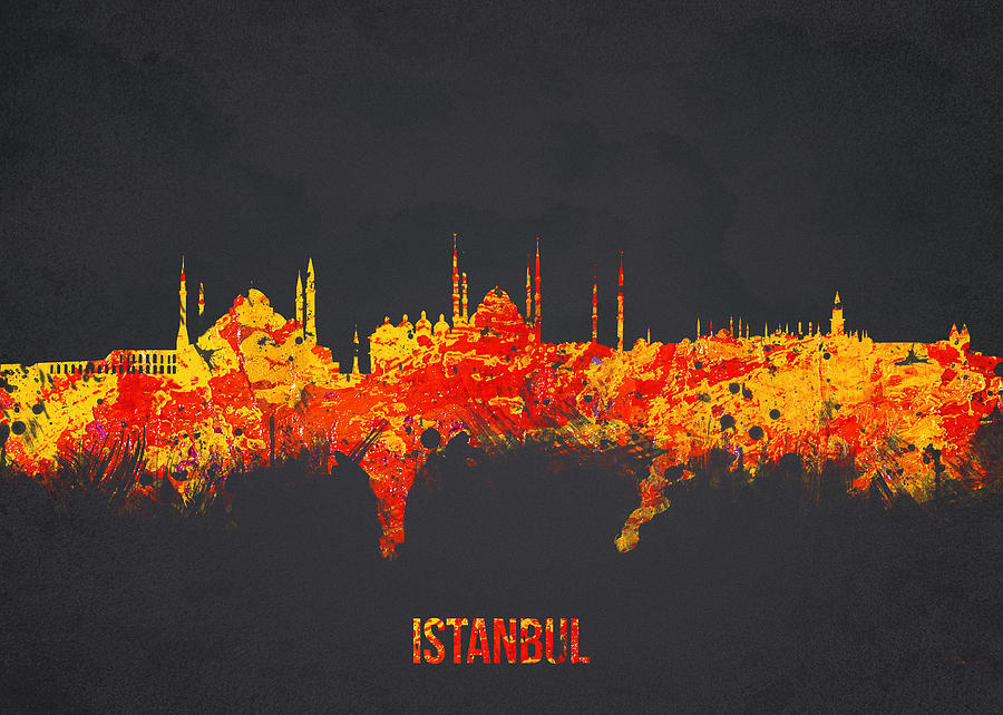 Architecture Digital Art - Istanbul Turkey by Aged Pixel