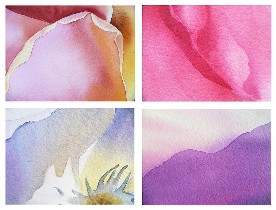 Petals Painting - It Is All In Petals by Irina Sztukowski