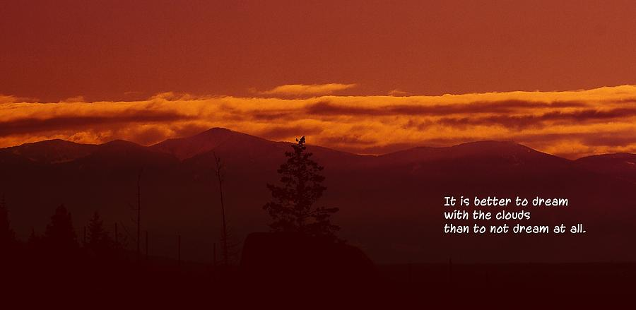 Silhouettes Photograph - It Is Better by Jeff Swan