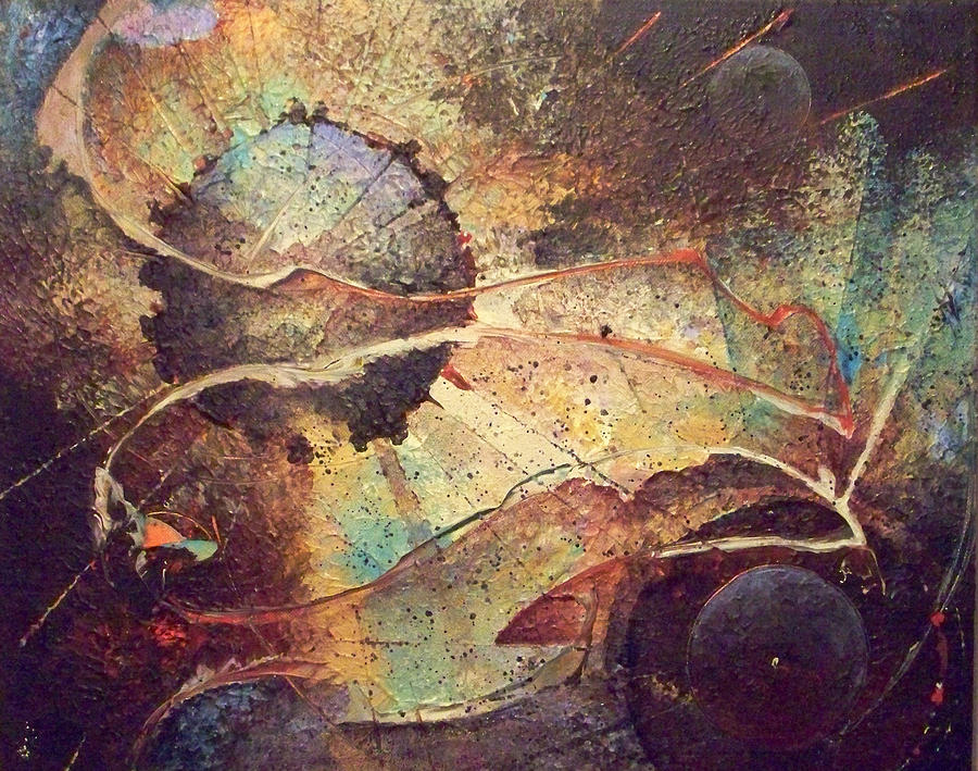 Abstract Paintings Painting - It Is It Is Not by Fred Wellner