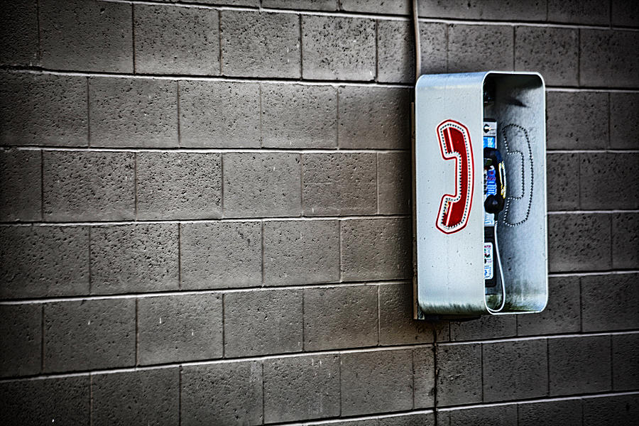 Telephone Photograph - It Still Exists by Karol Livote