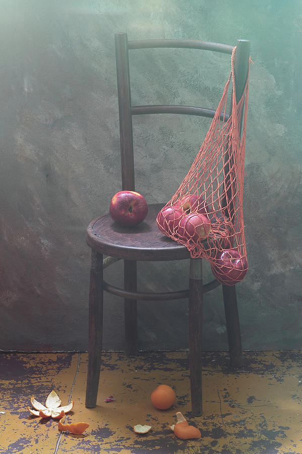 Basket Photograph - It Was Recently... by Ustinagreen