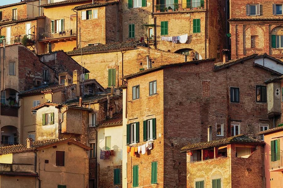 Italian Buildings Photograph by Fancy Yan