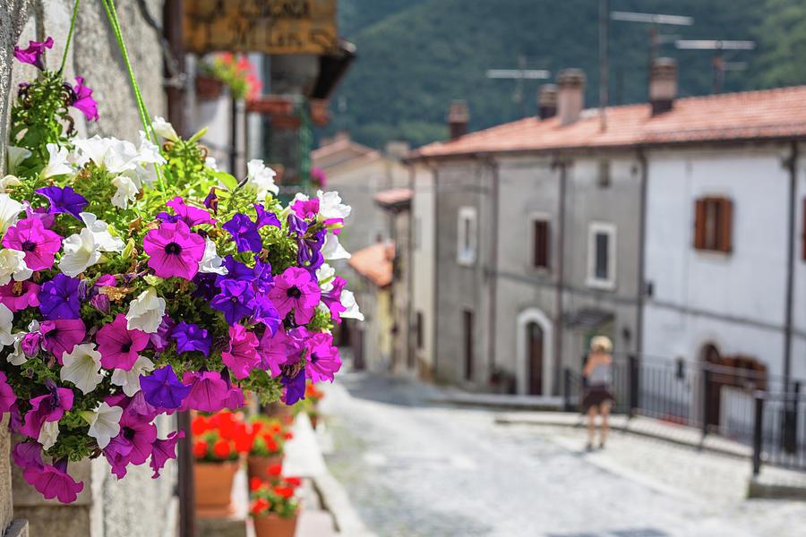 Italian Country In Abruzzo Photograph by Deimagine