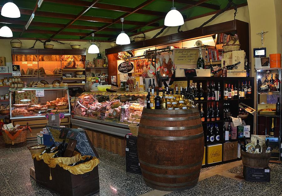Grocery Photograph - Italian Grocery by Dany Lison